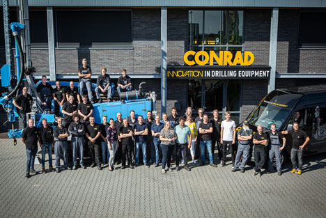 Conrad Stanen Drilling Equipment